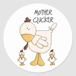 Funny Chicken Gift Sticker