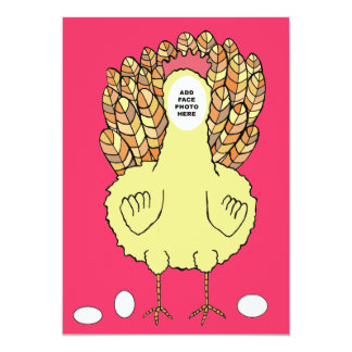 Funny Chicken Hens Night Bachelorette Party Invite