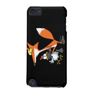funny chicken stealing stealer fox iPod touch (5th generation) cover