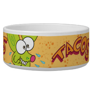 Funny Chico Chihuahua cartoon  tacos