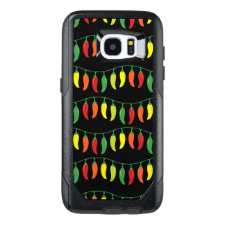 Funny Chili Peppers Pattern OtterBox Samsung Galaxy S7 Edge Case