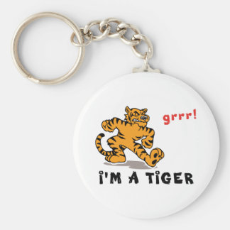 Funny Chinese Zodiac Tiger Key Chains