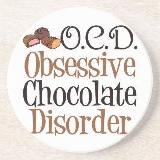 Funny Chocolate Beverage Coasters