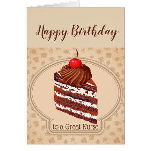 Funny Nurse Birthday Cards Gallery Birthday Cake Decoration Ideas