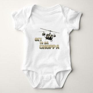 Funny Choppa Baby Bodysuit