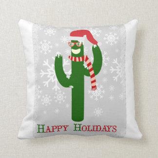 Funny Christmas Cactus Cushion