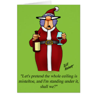 Funny Christmas Card For Him