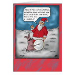 Funny Christmas Cards: Christmas Drums