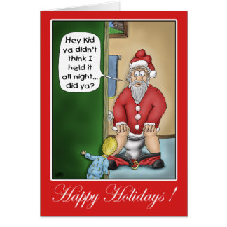 Funny Christmas Cards Pit Stop