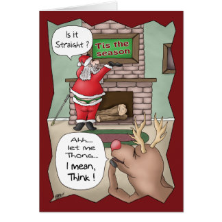 Funny Christmas Cards: 'Tis the Season Card