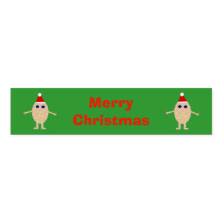 Funny Christmas Egg Custom Napkin Band