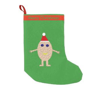 Funny Christmas Egg Custom Stocking