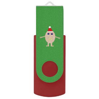 Funny Christmas Egg Custom USB Drive