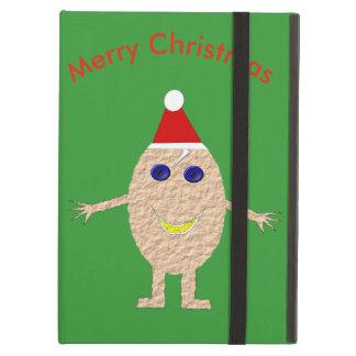 Funny Christmas Egg iPad Case