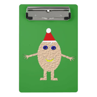 Funny Christmas Egg Mini Clipboard