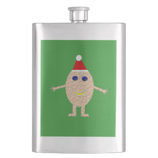 Funny Christmas Egg Penguin Flasks