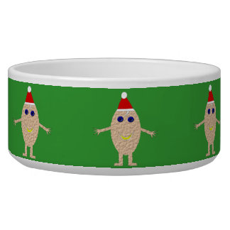 Funny Christmas Egg Pet Bowl