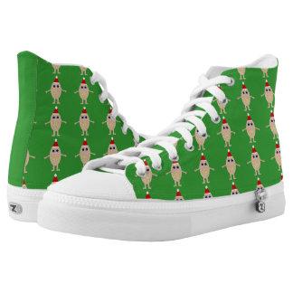 Funny Christmas Egg Shoes