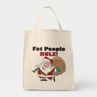 Funny Christmas Grocery Tote Bag