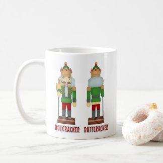Funny Christmas Nutcracker Buttcracker Humourous Coffee Mug
