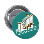Funny Christmas Nutcracker Buttons