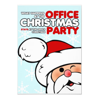 Office Christmas Party Invitations & Announcements | Zazzle.com.au