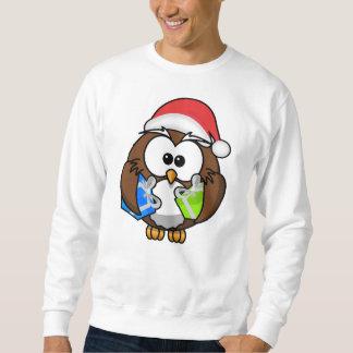 Funny Christmas Owl Sweatshirt