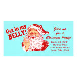 Funny Christmas Party Invitations Personalized Photo Card