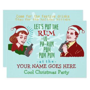 Funny Christmas Invitations Announcements Zazzle Com Au