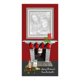 Funny Christmas Photo Card