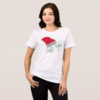 Funny Christmas Santa Baby Bling T-Shirt
