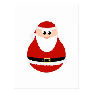 Funny Christmas Santa Claus Postcard