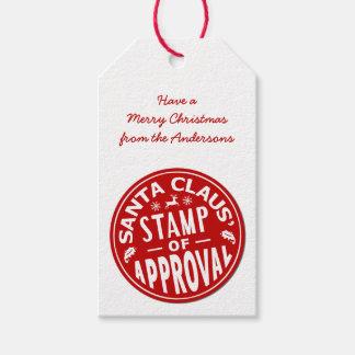 Funny Christmas Santa Claus Stamp Custom Party