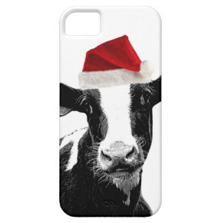 Funny Christmas Santa Cow iPhone 5 Covers