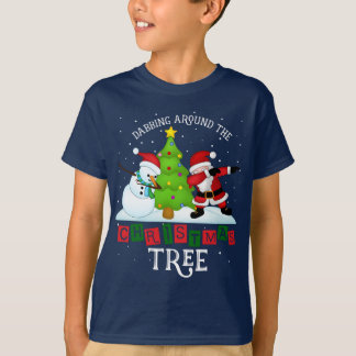 Funny Christmas Santa Dabbing T-Shirt