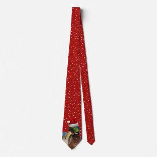 Funny Christmas Santa Duck Tie