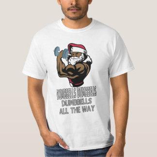 Funny Christmas shirt for body builders