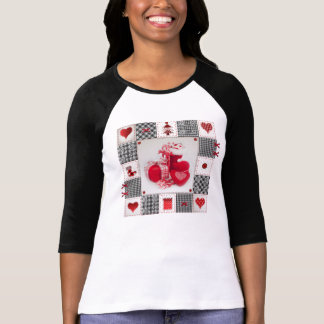 Funny Christmas Shoe T-Shirt with songs & videos