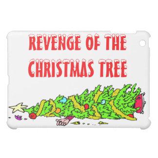 Funny Christmas Tree Cartoon iPad Mini Cover