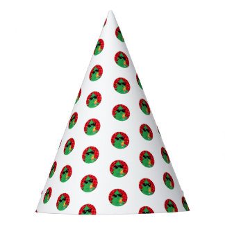 Funny Christmas Tree Drinking Cocktail Party Hat