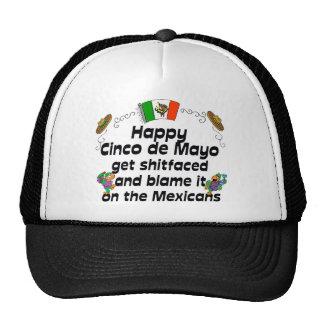 Funny  Cinco de Mayo Mesh Hats