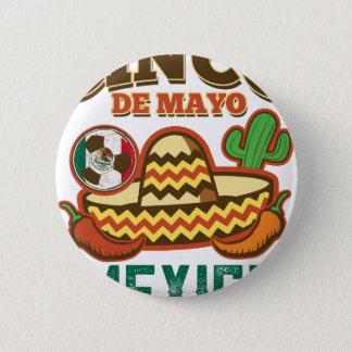 Funny Cinco De Mayo Mexican 6 Cm Round Badge