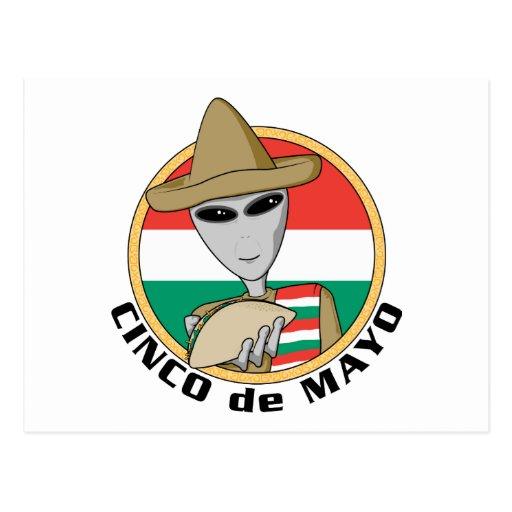 Funny Cinco de Mayo Post Cards