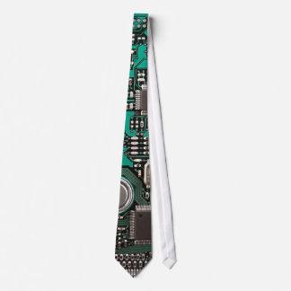 Funny circuit board tie