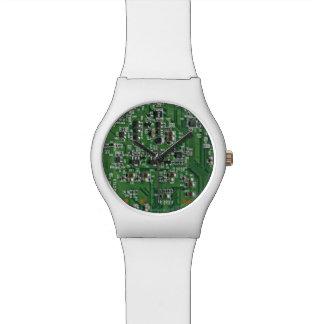 Funny circuit board watch