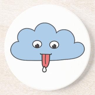 Funny Cloud Beverage Coasters