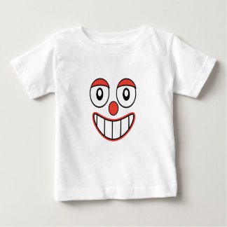 Funny Clown Caricature Baby T-Shirt