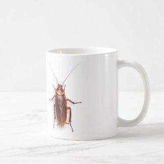 funny cockroach mug