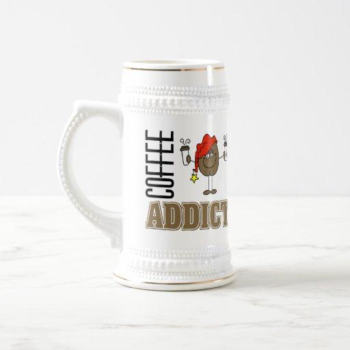 Funny Coffee Addict Coffee Mugs