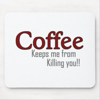 Funny Coffee Design Style Mousemats